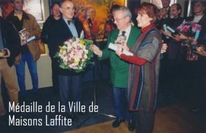 1-SMEDAILLE DE LAVILLE DE MAISON LAFITTE